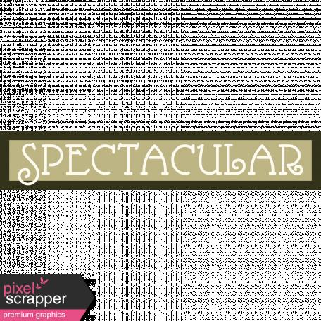 Spectacular Sticker