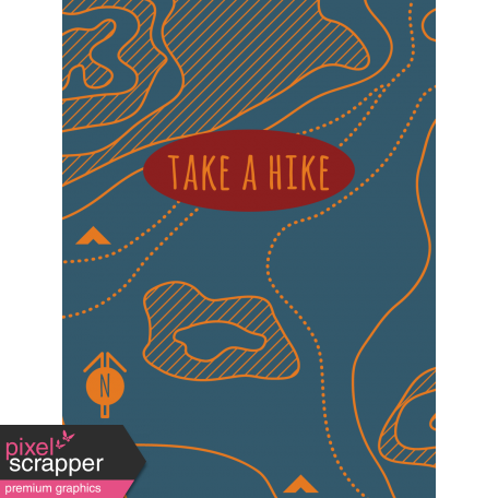 Scout Journal Card - Take A Hike
