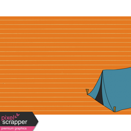 Scout Journal Card - Tent