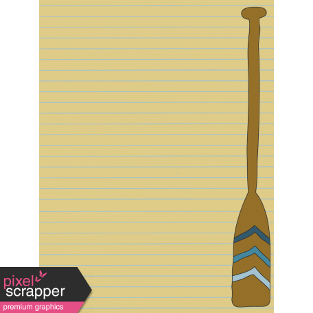 Scout Journal Card - Paddle