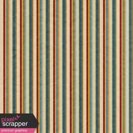 Khaki Scouts - Multicolor Stripes Paper