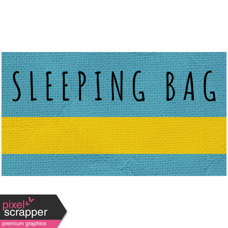 Khaki Scouts Label - Sleeping Bag