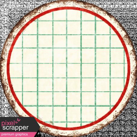 Grunge Circle Grid Tag