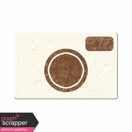 White Chipboard Camera
