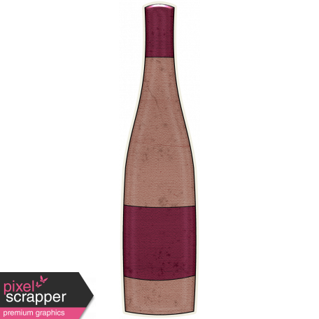 Boozy Wine Bottle 06