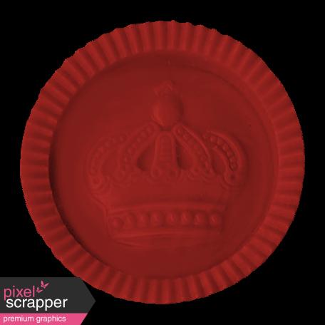 Argyle Buttons - Red Checker