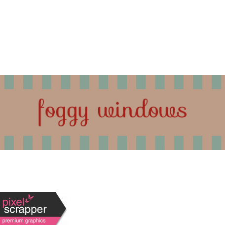 Argyle Buttons Tags - Foggy Windows