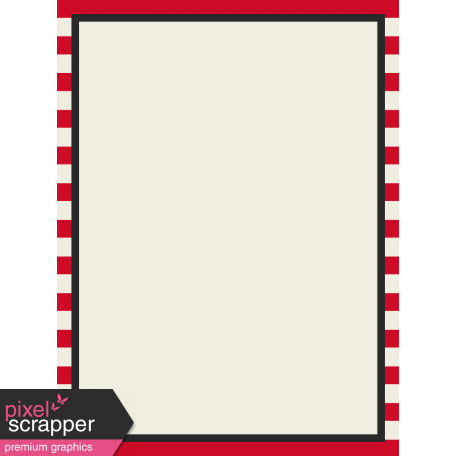 Move Journal Cards - Red Stripes