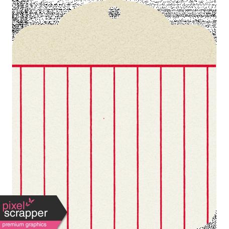 Move Tag - Tan Stripes