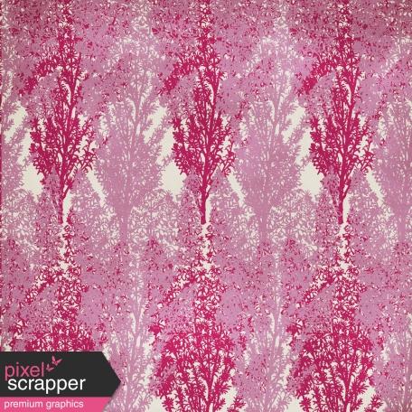 Floral Paper - Purple