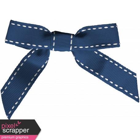 Thanksgiving Bow - Blue