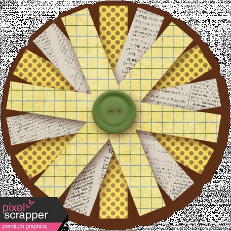 Paper Flower 21 - Yellow