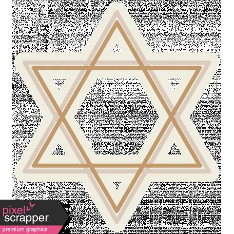 Hanukkah Star - Tans