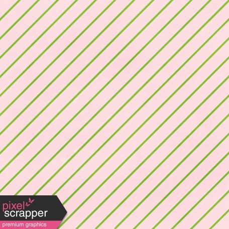 Stripes 75 - Pink & Green Paper