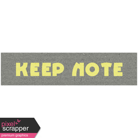 Like This Kit - Label Keep Note
