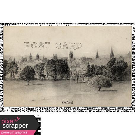 Oxford Postcard
