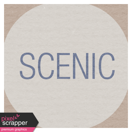 Lake District Label - Scenic