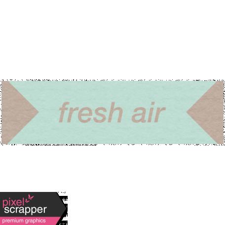 Lake District Label - Fresh Air
