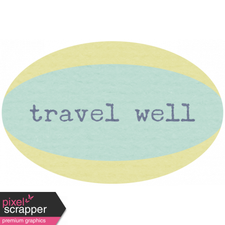 Lake District Label - Travel Well