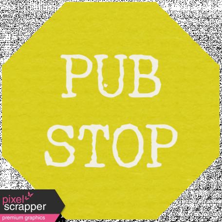 Lake District Label - Pub Stop