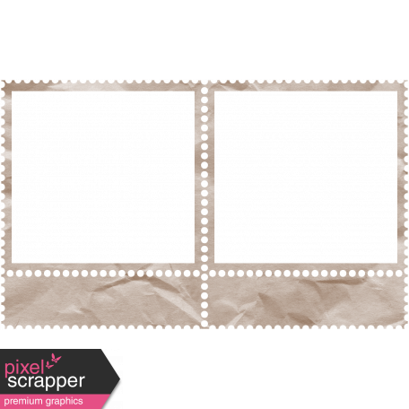Lake District Stamp Frame - Double