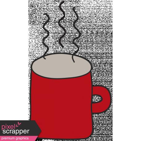 Winter Plaid - Red Mug