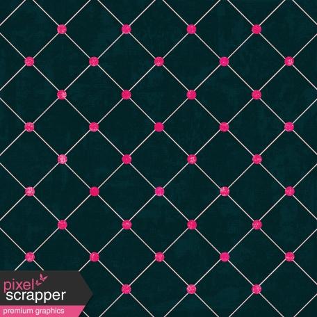 Argyle 6 - Navy & Pink Paper