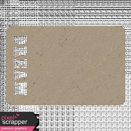 Dream Chipboard Tag