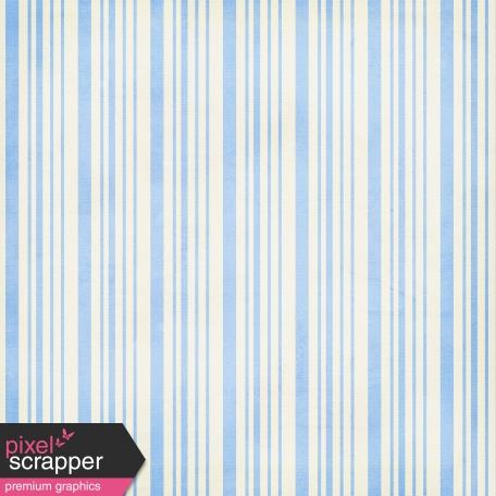 Stripes 52 Paper - Blue & White