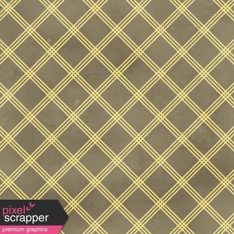 Argyle Paper 24 - Gray & Yellow