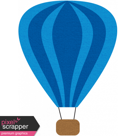 Hot Air Balloon - Blue Balloon