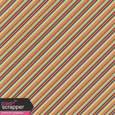 Hot Air Balloon - Striped Paper - Diagonal