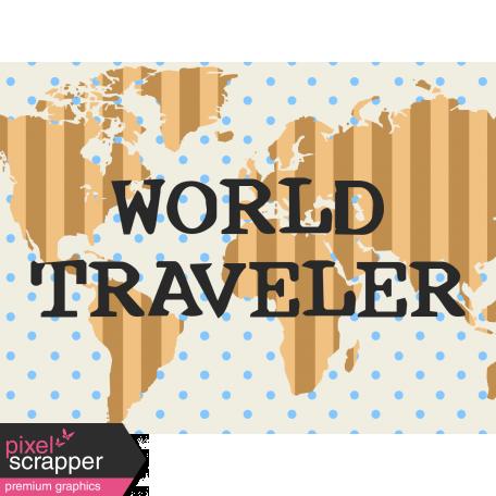 Egypt - World Traveler Journal Card