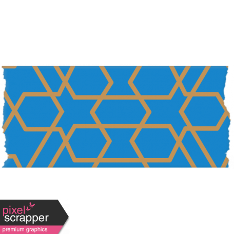 Egypt - Blue Washi Tape