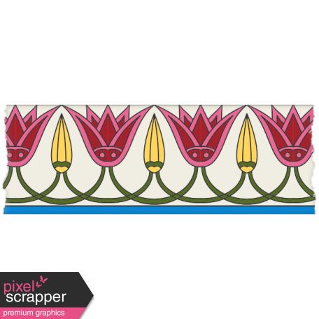 Egypt - Flower Washi Tape