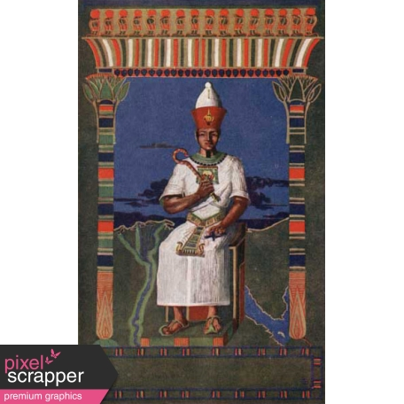 Egypt Illustration - Pharaoh