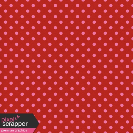 Egypt - Polka Dots Paper - Red & Pink