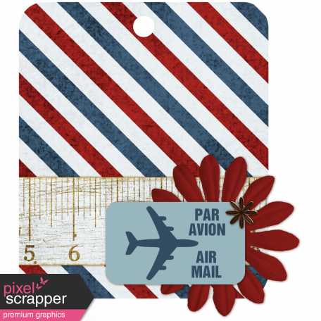 Air Mail Tag