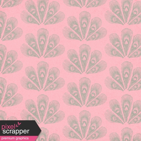 Peacock Paper - Pink