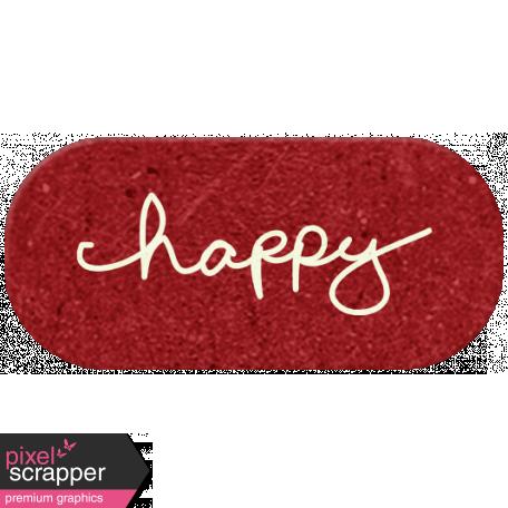 DST Feb 2014 - Happy Label