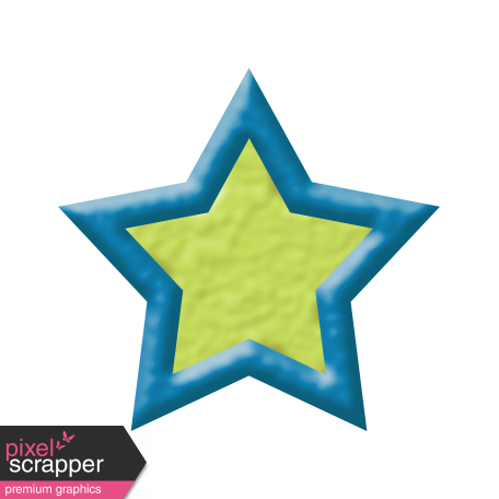 Oceanside Shape - Two Tone Star