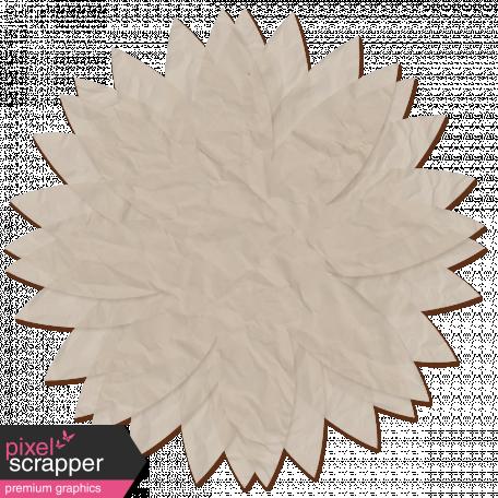 Tissue Paper Flower - gray