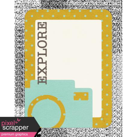 Explore Journaling Card