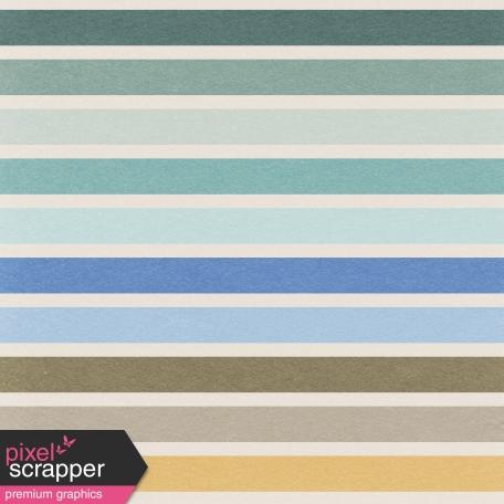Coastal - Stripes Paper - Multicolor