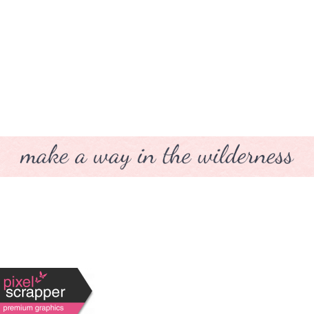 Where Flowers Bloom Labels - Make A Way In The Wilderness