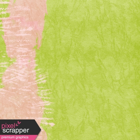Where Flowers Bloom - Paint Paper - Green & Pink