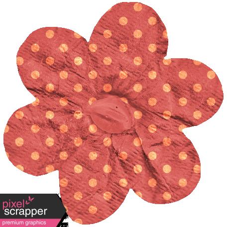 Garden Bunny - Polka Dot Flower