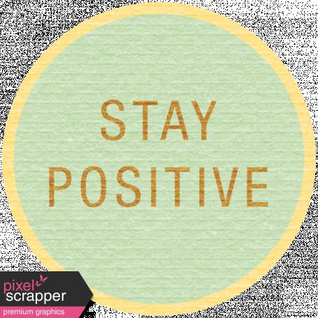 Sunshine & Lemons Label - Stay Positive