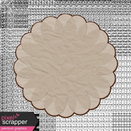 Tissue Paper Flower 2 - Gray