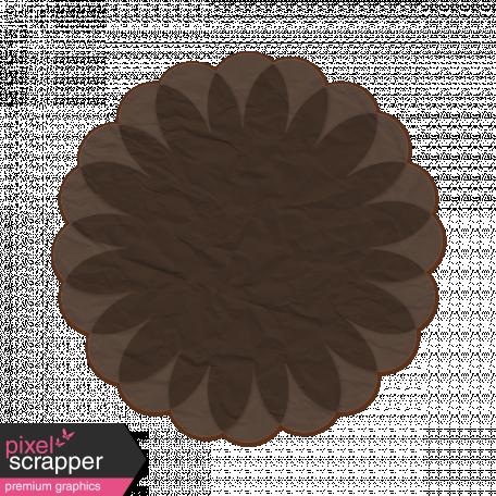 Tissue Paper Flower 2 - Dark Gray